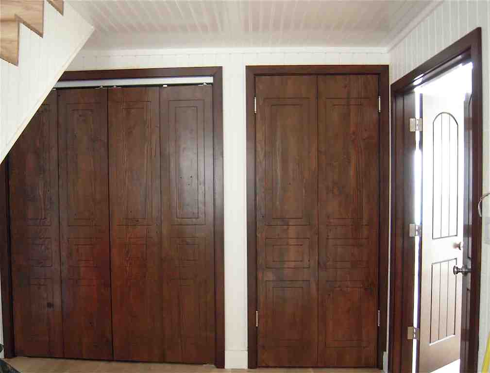 Wooden Folding Doors : Bifold closet doors ideas and design — plywoodchair