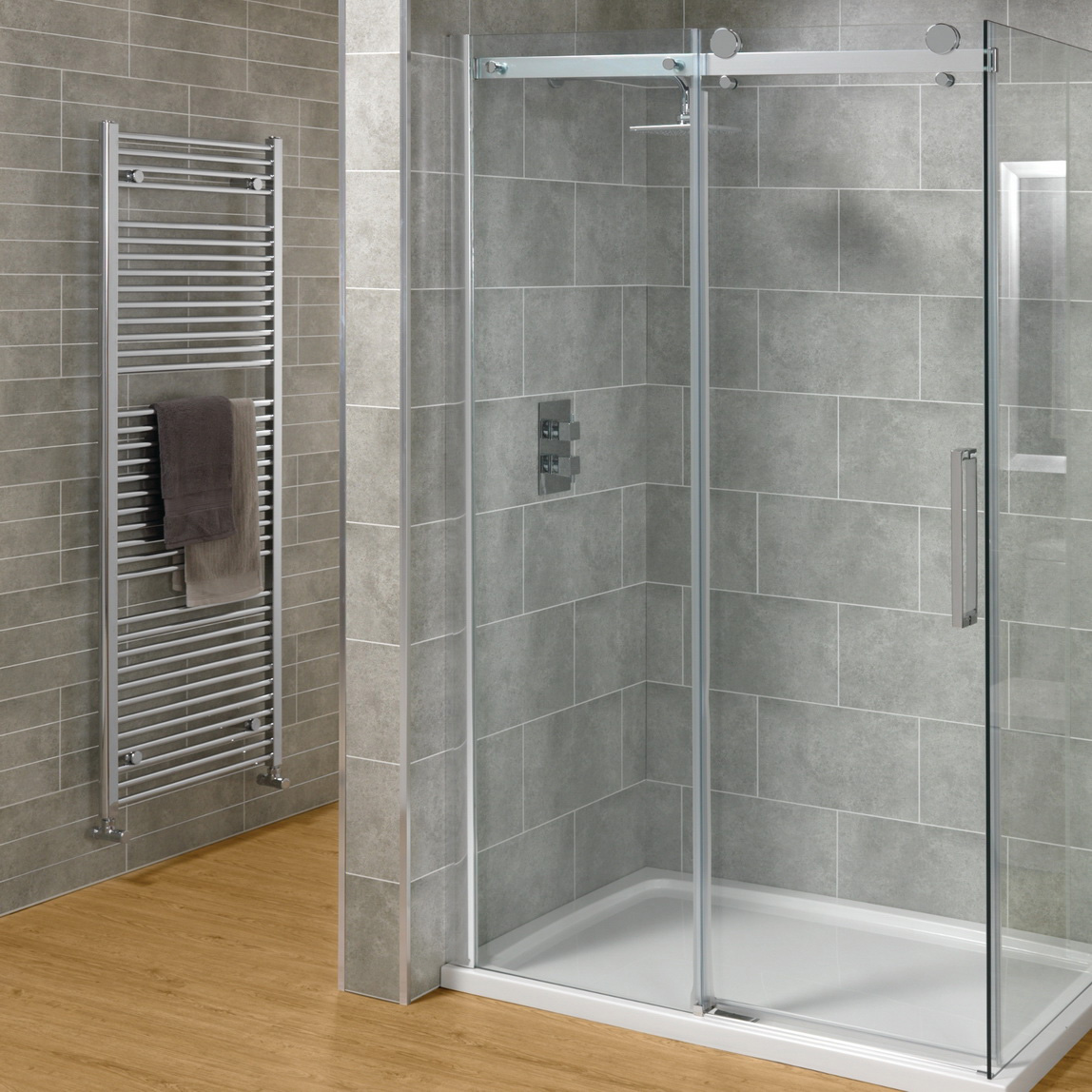 Creative fiberglass shower enclosure featured cntemporary shower doors glass frameless bathroom decorating ideas