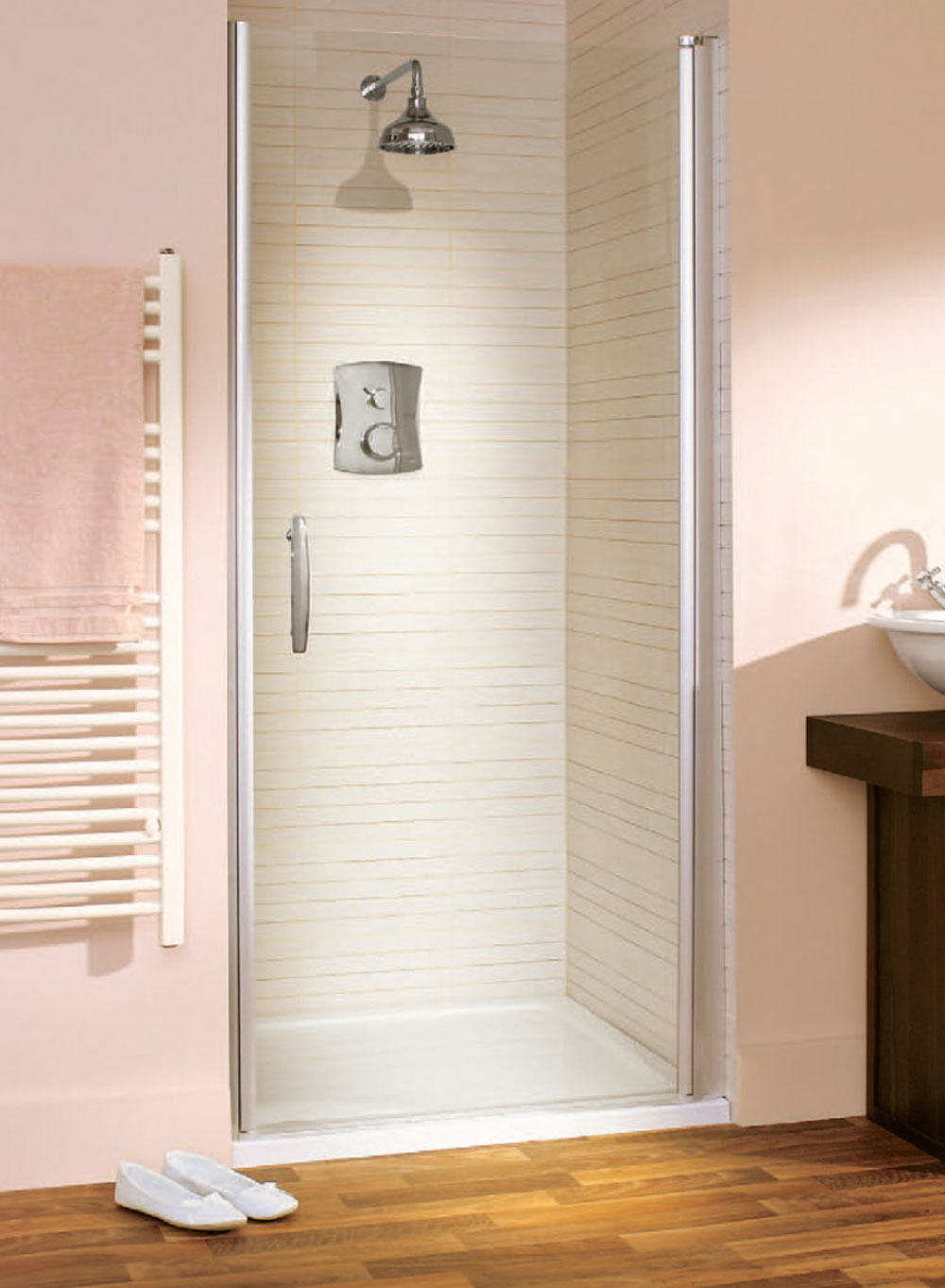 Awesome frameless shower doors options ideas for Cool shower door ideas