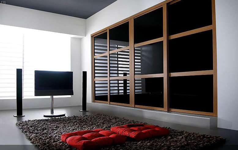 : contemporary fitted sliding wardrobes doors design built it wardrobes with glass doors