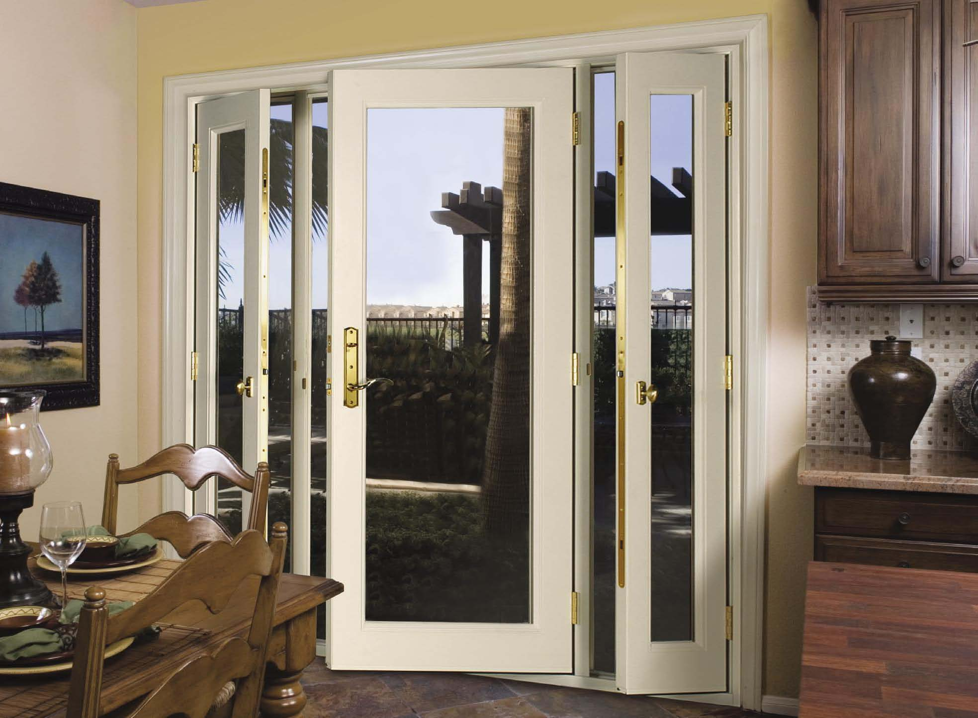 : double glazed back doors