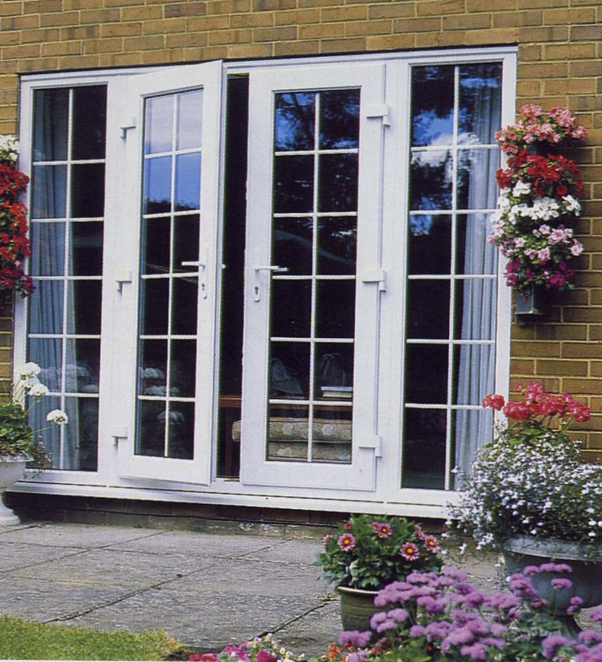 : double glazed front doors