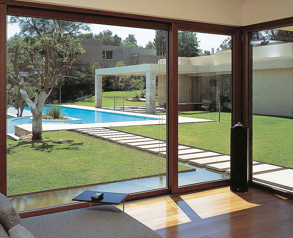 : double glazed sliding doors