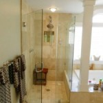 Awesome Frameless Shower Doors Options Ideas for Bathroom