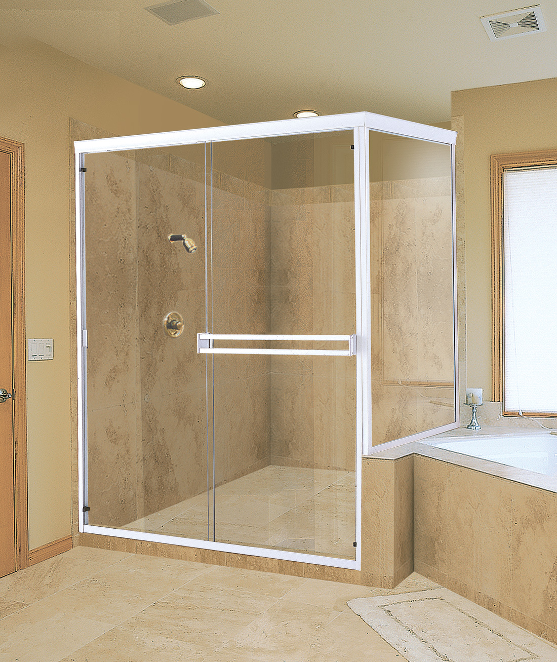 frameless glass shower doors oil rubbed bronze featured top glass shower doors frameless ideas for bathroom decor