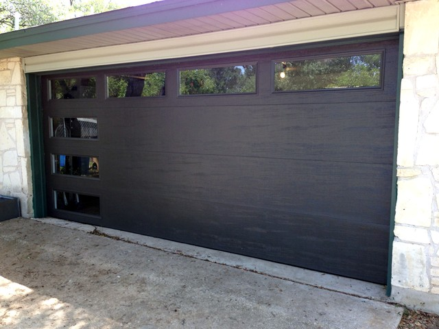 : insulated sectional garage doors