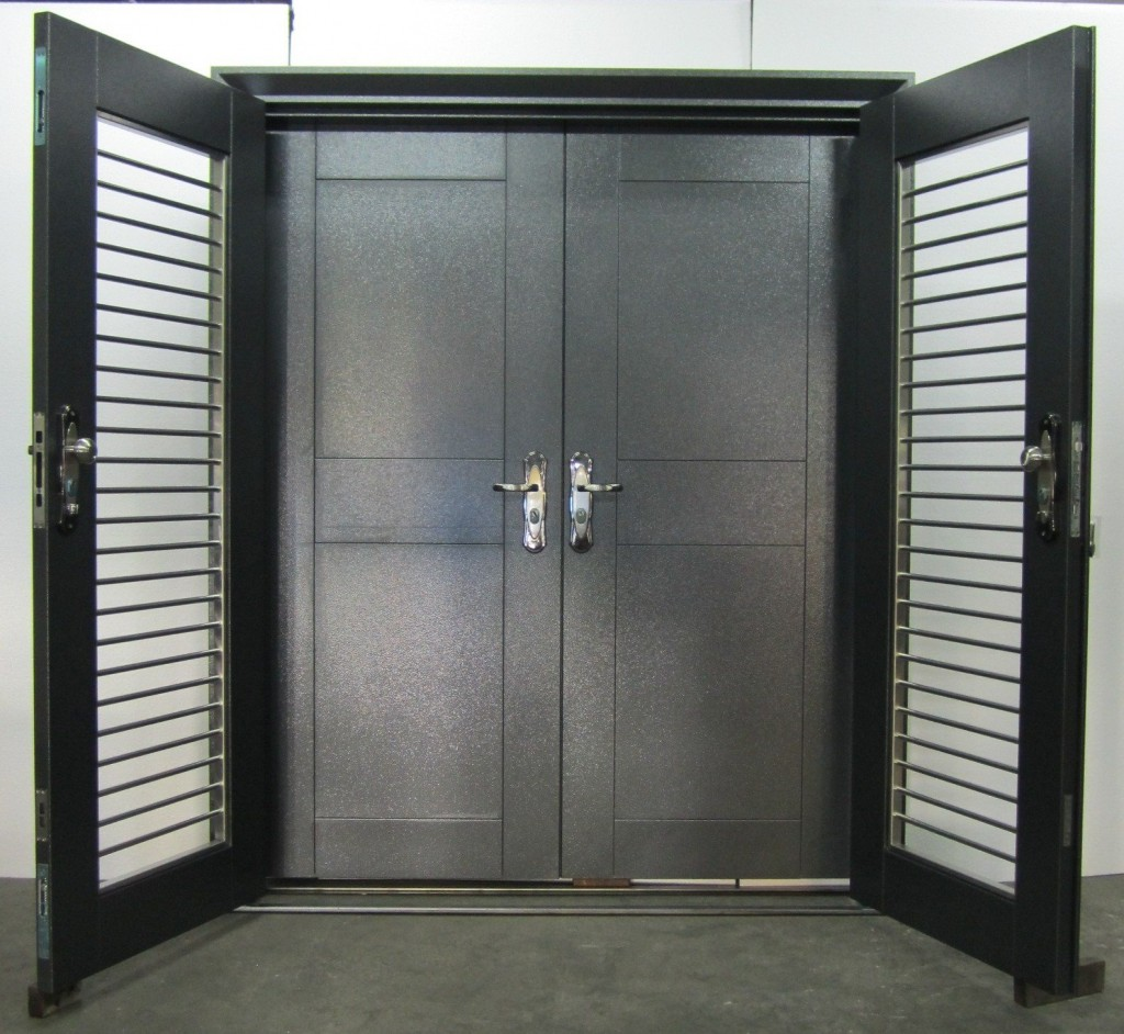 Steel Security Doors : Top security doors ideas for your home