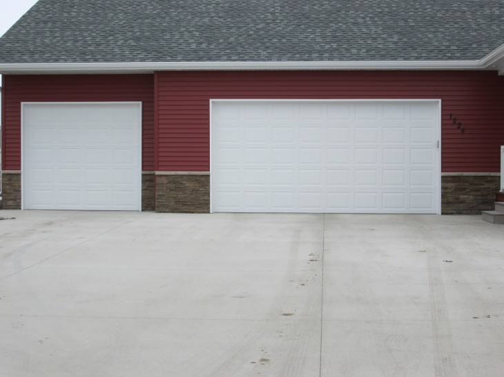 : steel insulated garage doors