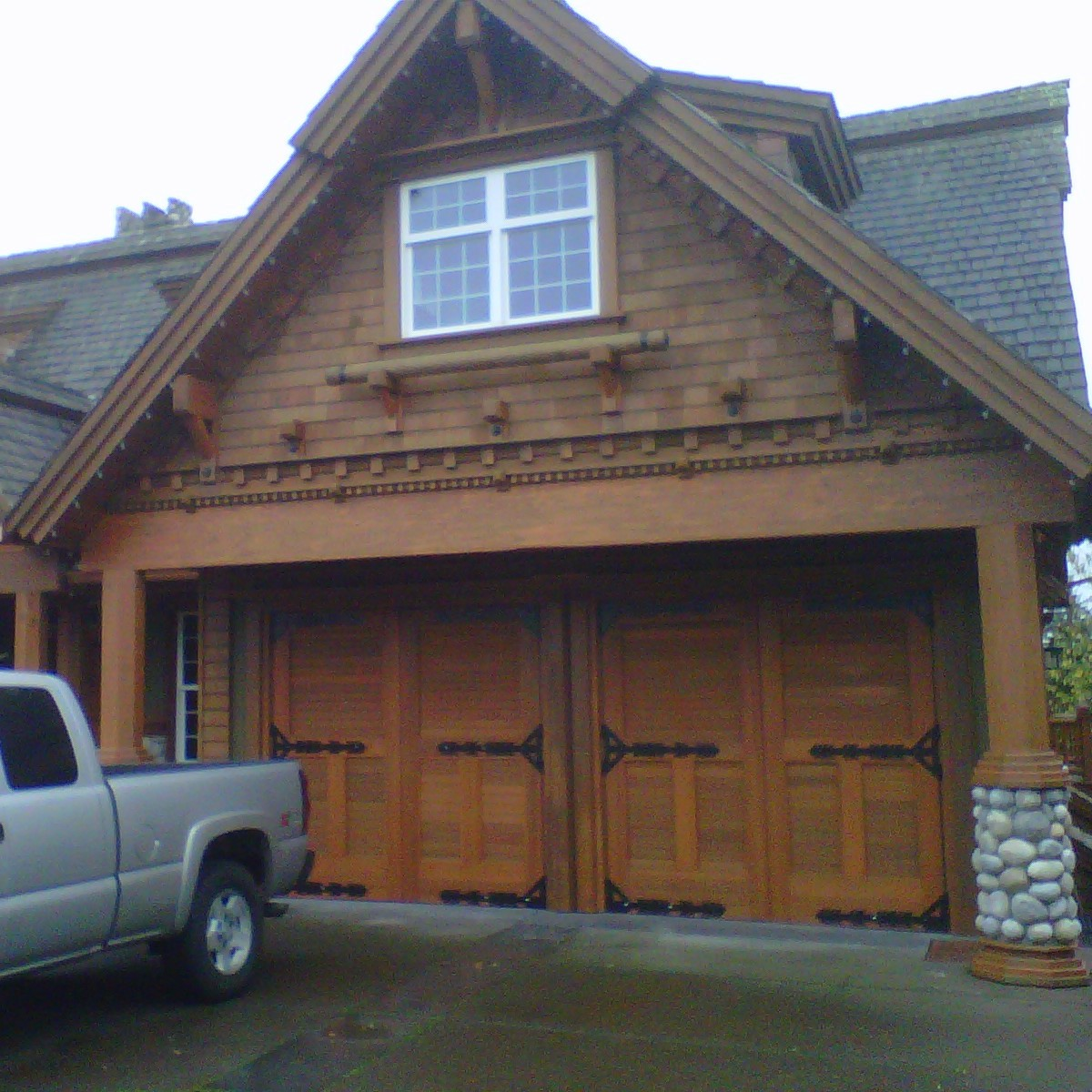 : traditional style garage doors insulated wooden