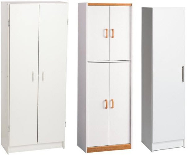 : wall storage cabinets with doors