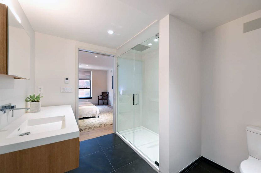 : modern contemporary frameless glass shower doors shower room design ideas