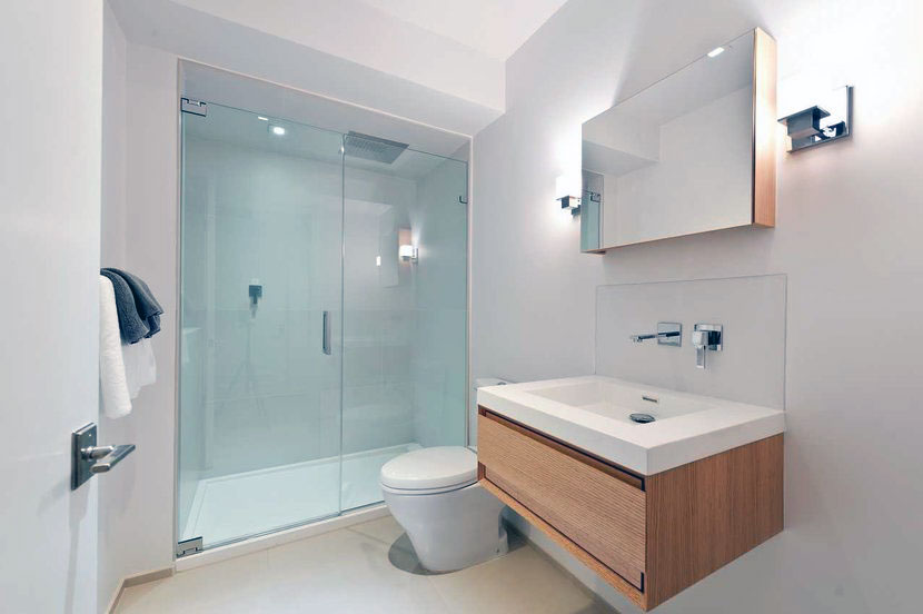 : modern contemporary shower doors glass frameless small ensuite shower room ideas