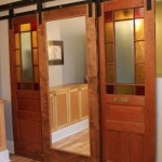 Sliding Barn Doors for House Design Ideas and Images