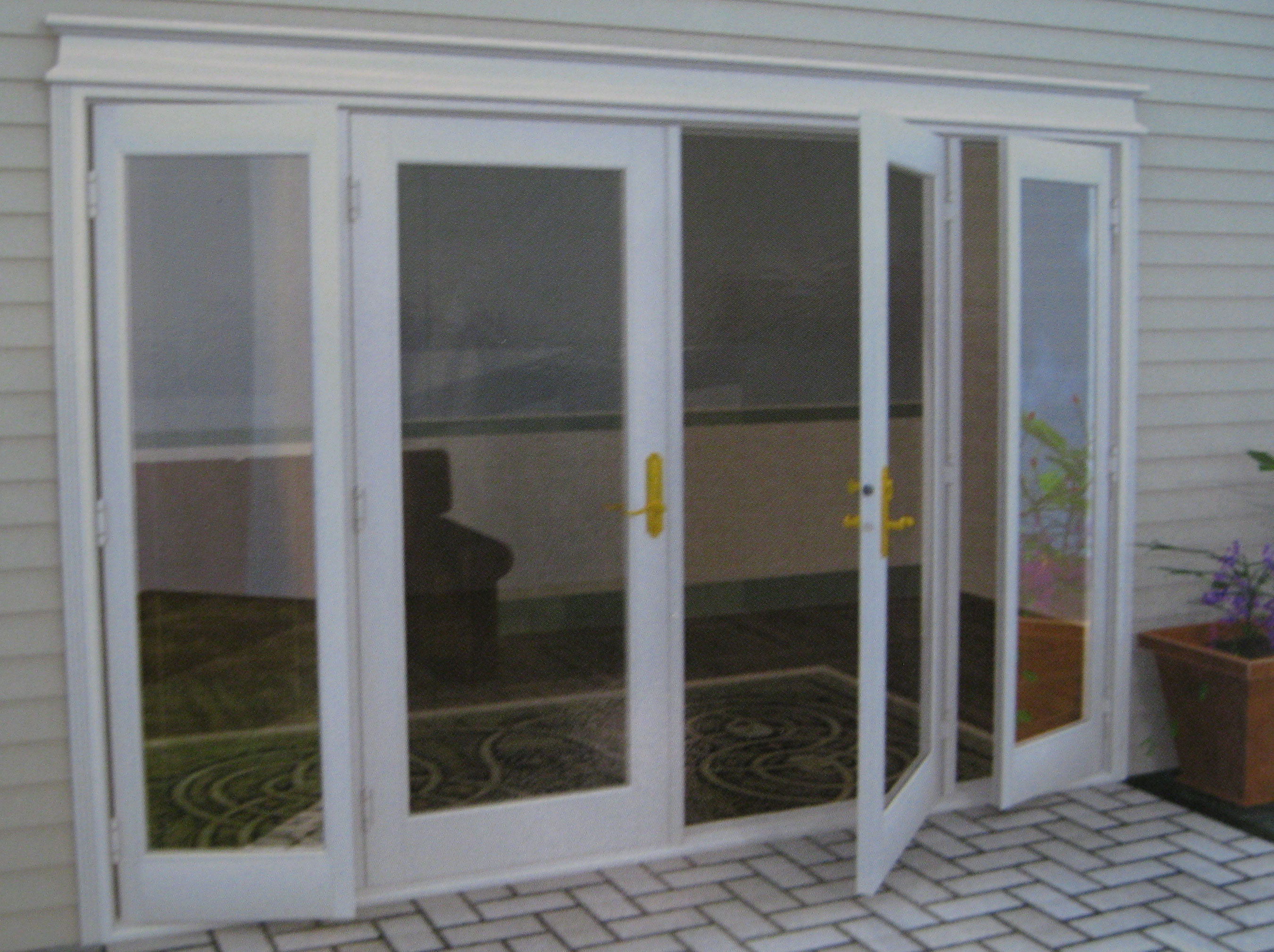 : exterior french patio doors