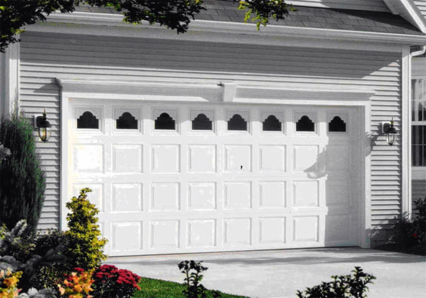 : modern garage doors cool residential garage doors