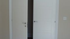 : modern white interior door frames designs