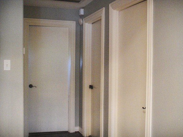 : white glazed interior doors