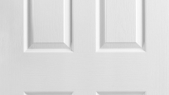 : white interior door frames