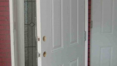 : white interior door handles installtion