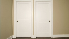 : white oak glazed internal doors
