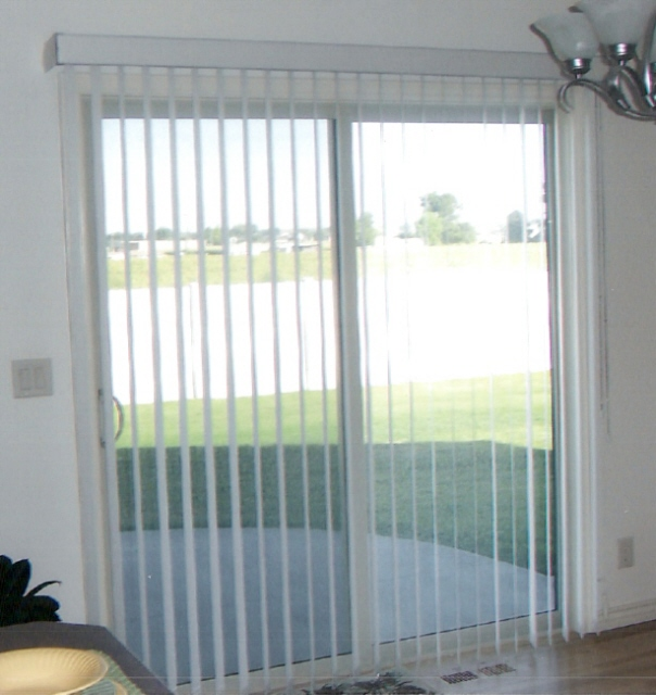 : window treatments for french doors to a patio