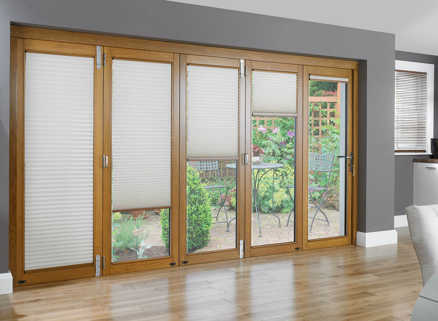 : window treatments for sliding glass doors in living room