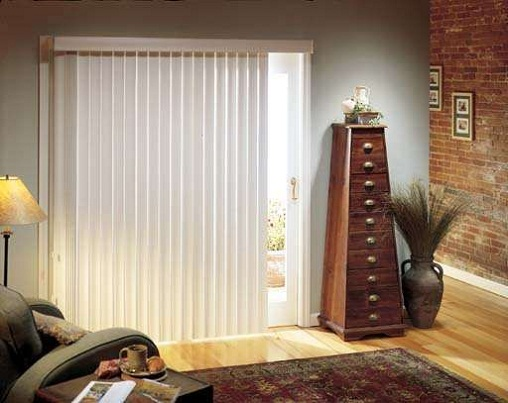 : window treatments for sliding glass doors with transoms