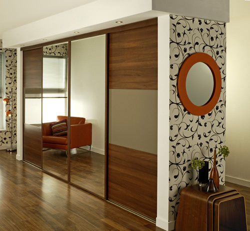 Fitted wardrobes with sliding doors design ideas for bedroom Bedroom wardrobe interior designs