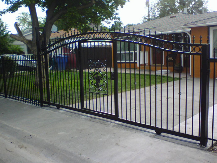 : vintage wrought iron gates cool driveway gate openers