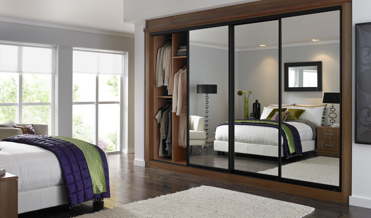Fitted Wardrobes With Sliding Doors Design Ideas For
