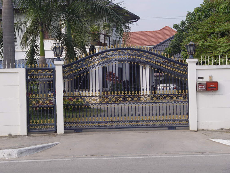 : wrought iron fencing and gates beautiful design driveway gate hinges