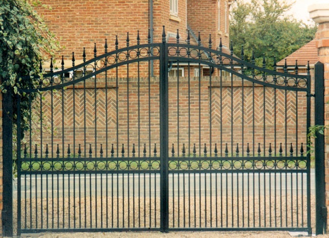 : wrought iron gate designs contemporary design driveway gate ideas