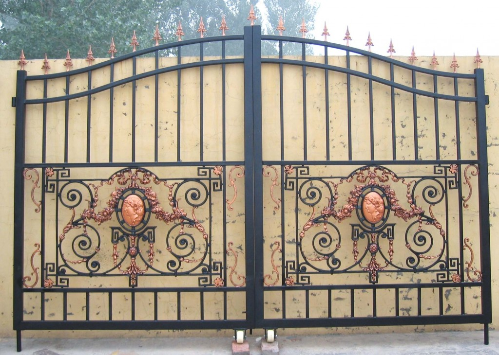 : wrought iron gates and railings awesome driveway gate plans