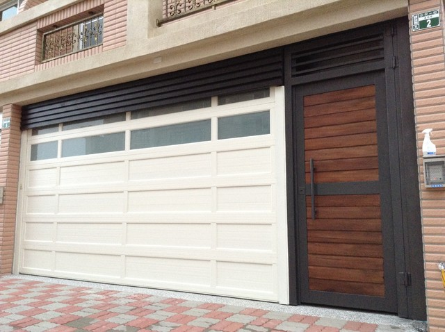 modern insulated garage doors design ideas image mag