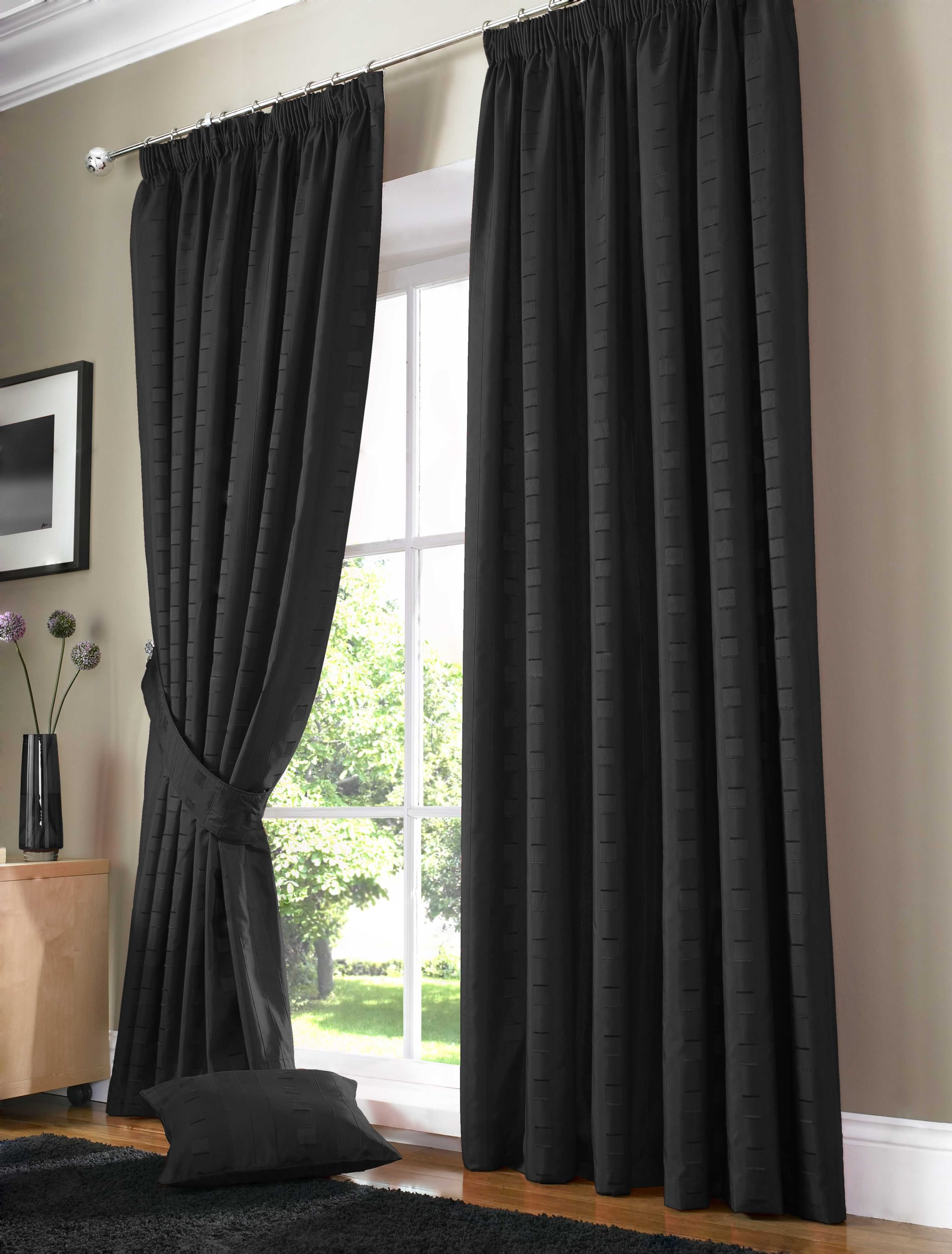 : Dark Patio Door Curtain With Cool Curtains Panels