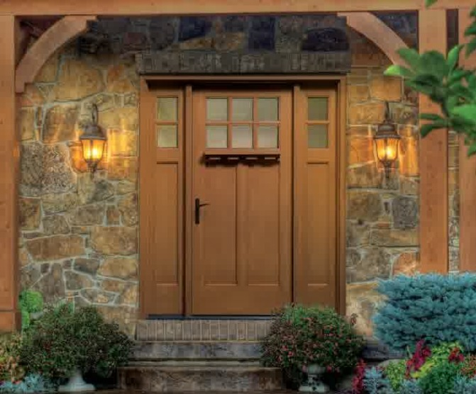 : Fiberglass Entry Doors With Sidelights Excellent Front Entry Doors