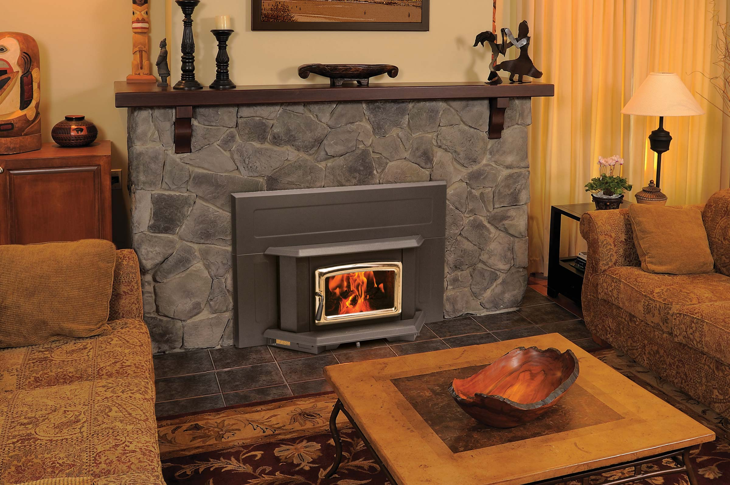 : fireplace glass doors northern virginia