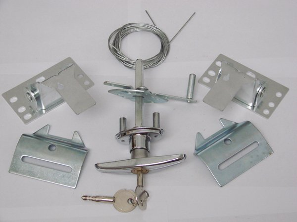 : Garage Door Lock Bar Assembly Inspiring  Door Design Ideas