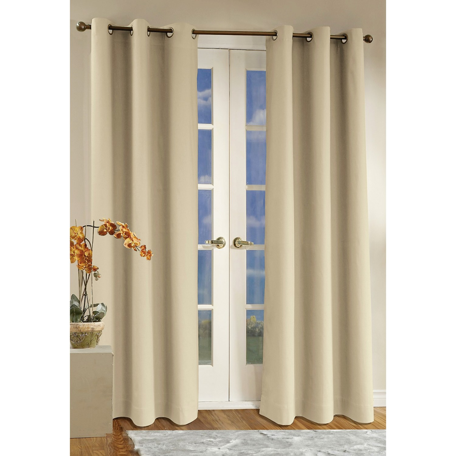 : Insulated Patio Door Curtains