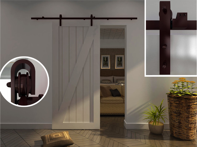 Interior Sliding Barn Door Hardware How To Add A Sliding Barn