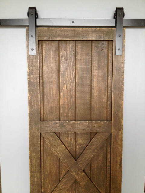 20 interior sliding barn doors designs for Barn door closet door ideas