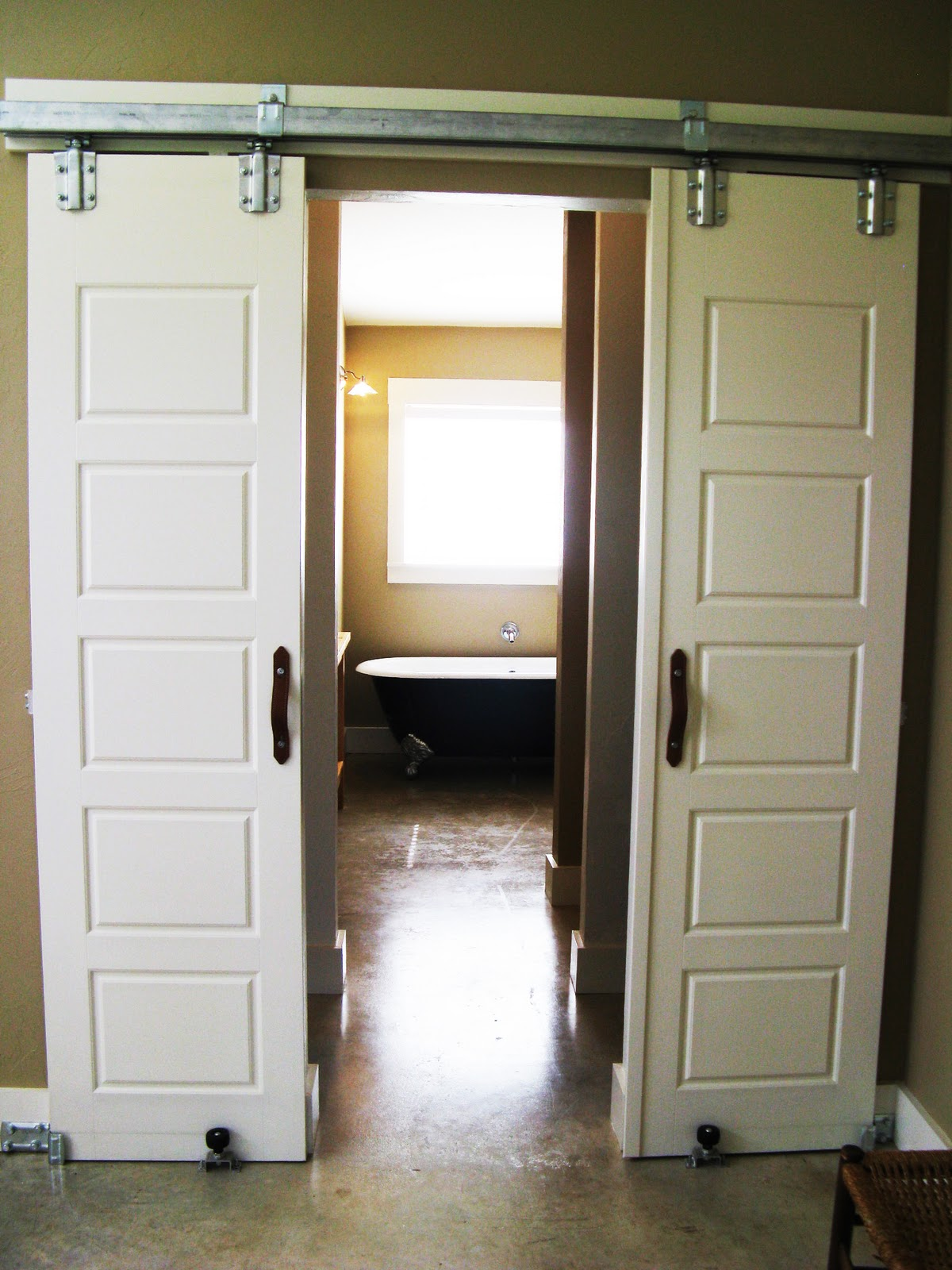 Interior Sliding Barn Doors Hardware Round Track