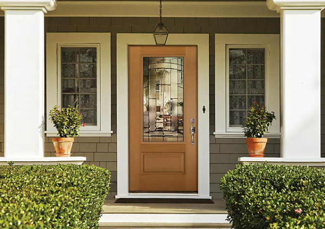 : Modern Fiberglass Entry Doors Terrific Wrought Iron Entry Doors