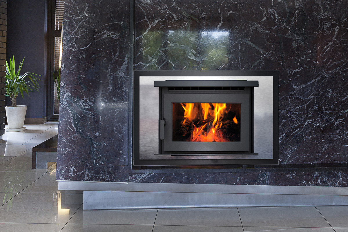 modern fireplace glass door designs