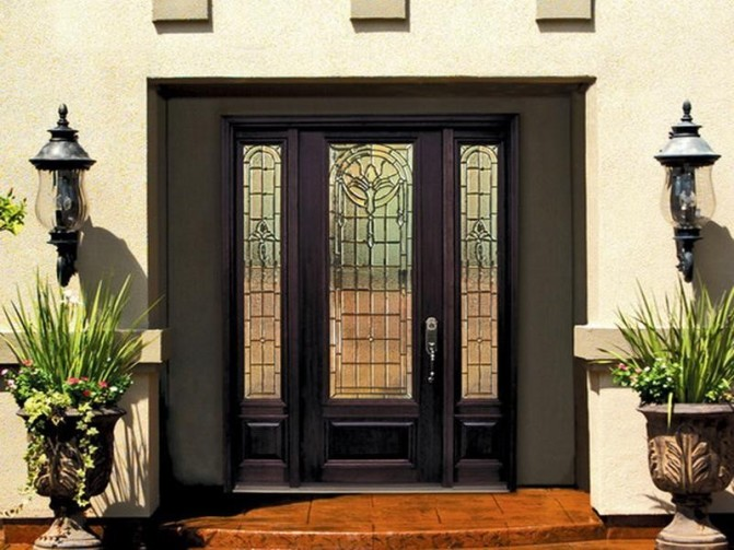: Rustic Fiberglass Entry Doors Brilliant Custom Entry Doors
