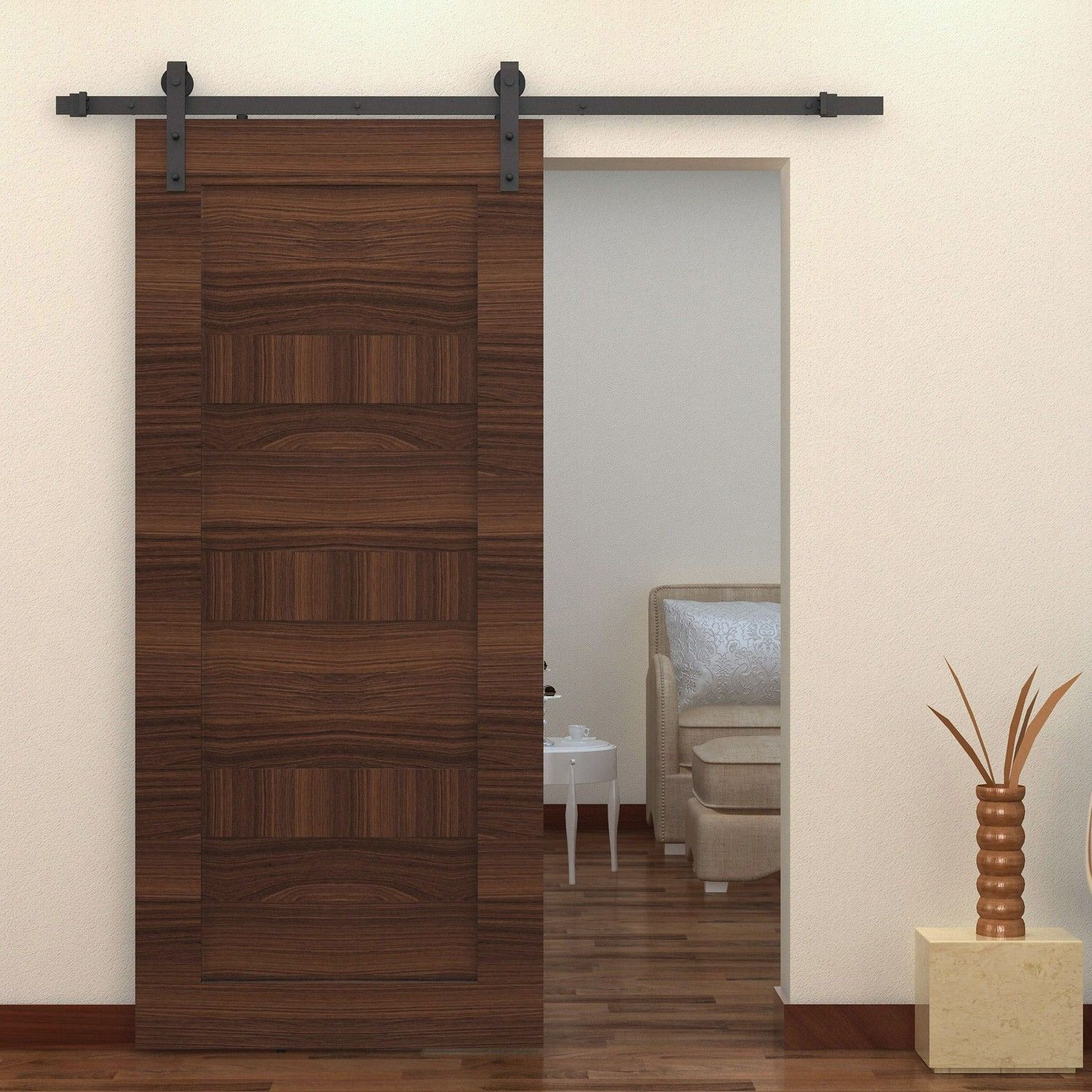 Sliding interior barn doors for sale - Rustic Interior Interior Sliding Barn Doors Hardware