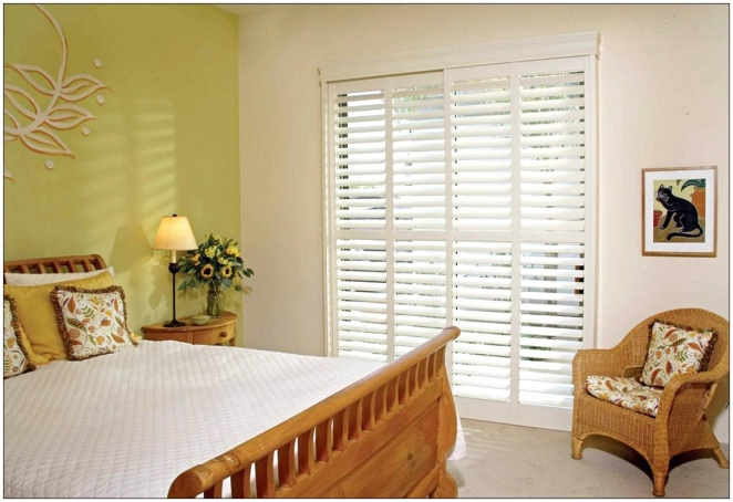 Wooden Blinds For Patio Doors cool patio windows treatment ideas