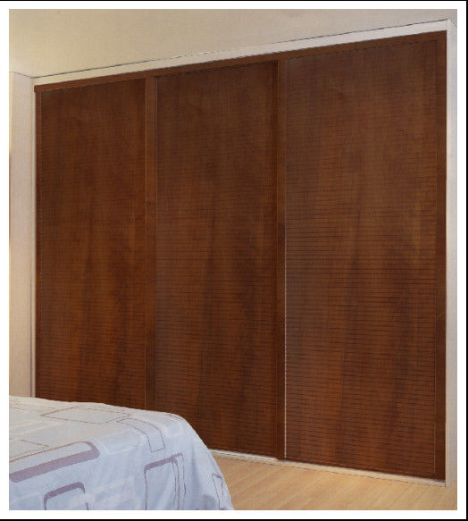 22 cool sliding closet doors design for your bedrooms for Wooden sliding doors