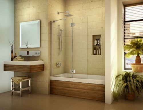 : contemporary frameless glass shower doors ideas head to ceiling design on bath tub