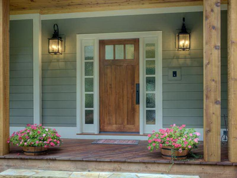 fiberglass front doors with sidelights